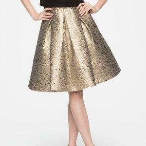Eliza J Gold Skirt Sz 16